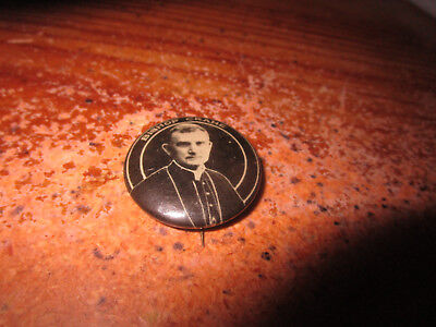 Antique Religious Pinback Button Bishop Michael Joseph Ryan of Philadelphia #2