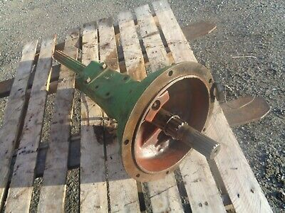 John Deere H. L.h. Axle Housing With Axle H419r