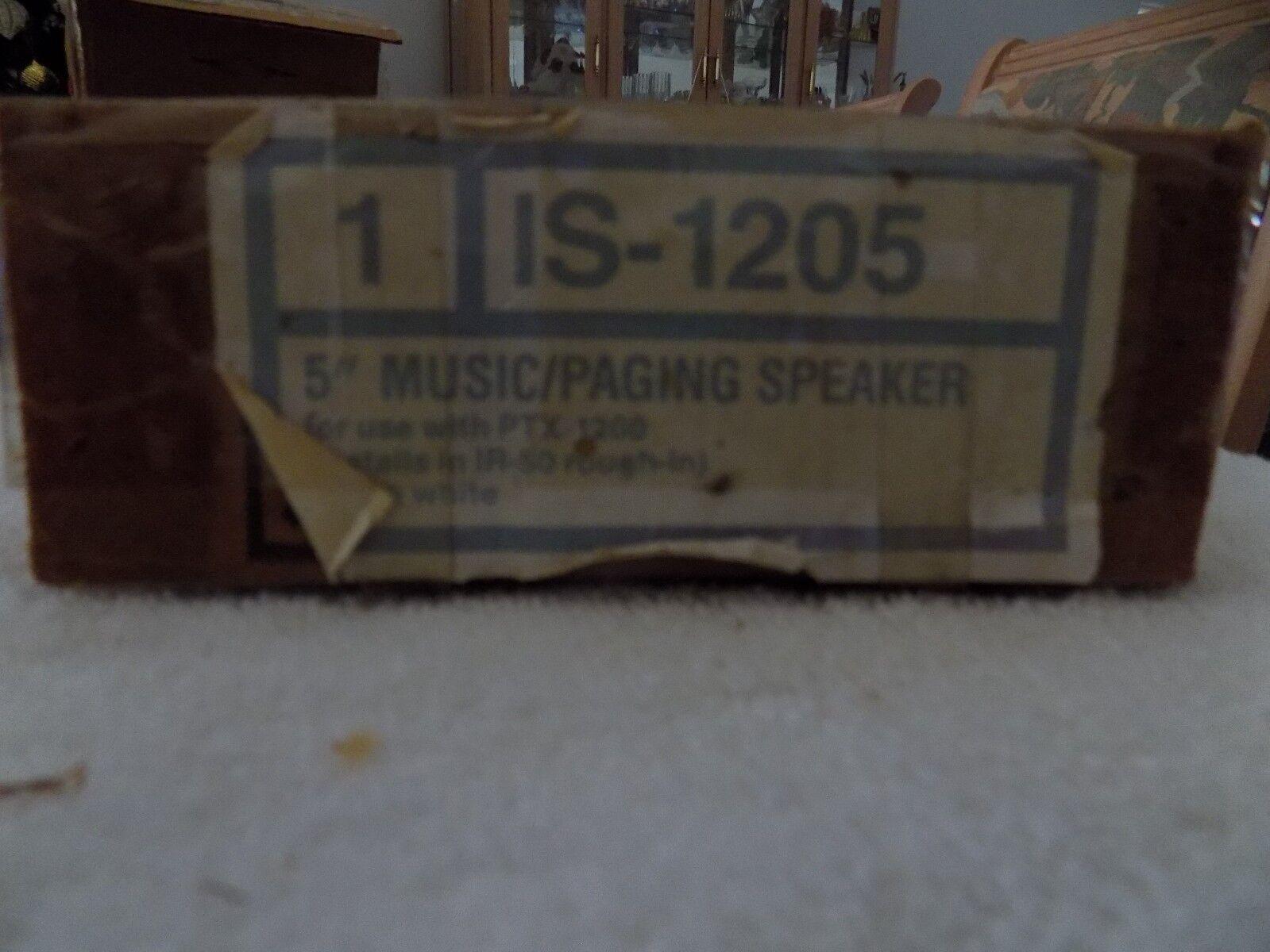 NUTONE IS-1205 MUSIC/PAGING SPEAKER