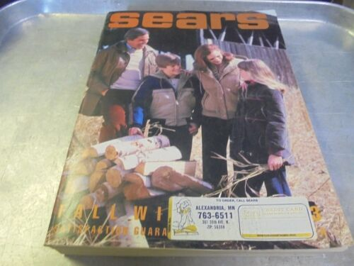 Vintage 1983 Sears Fall and Winter Catalog