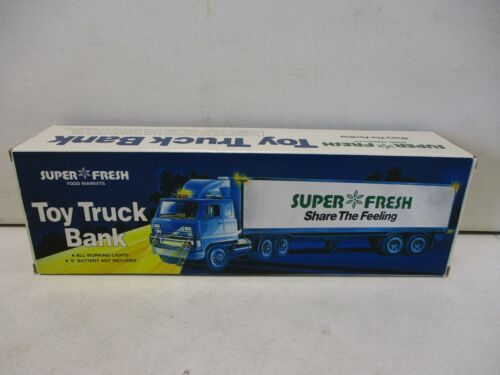 Super Fresh Toy Truck Bank