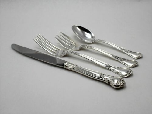 Gorham Chantilly Sterling Silver 4 Piece Place Setting - Place Size