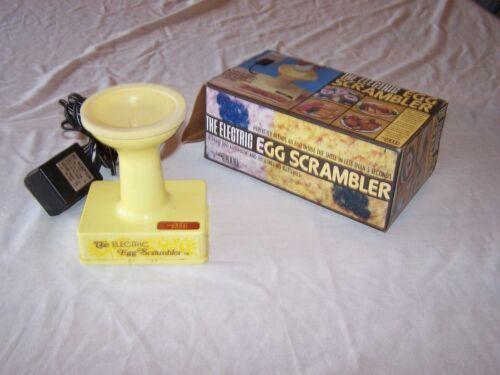 1977 Vintage RONCO ELECTRIC EGG SCRAMBLER 2000 - Scrambles Inside the Shell