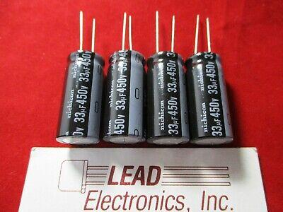 2PCS 47UF 47mfd 450V Electrolytic Capacitor 105 degrees USA FREE SHIPPING