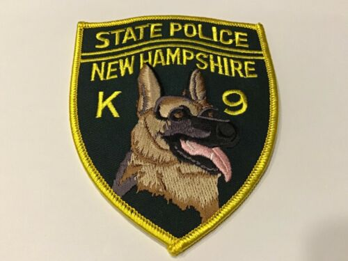 NEW HAMPSHIRE STATE POLICE K 9 PATCH