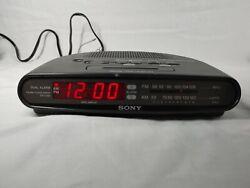 Sony Dream Machine AM/FM Dual Alarm Clock Radio - ICF-C390 Black