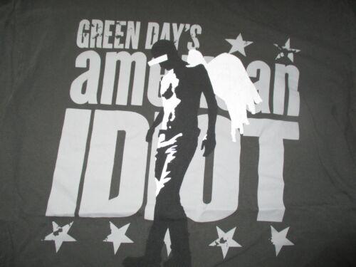 Retro GREEN DAY AMERICAN IDIOT (LG) T-Shirt Billy Joe Armstrong