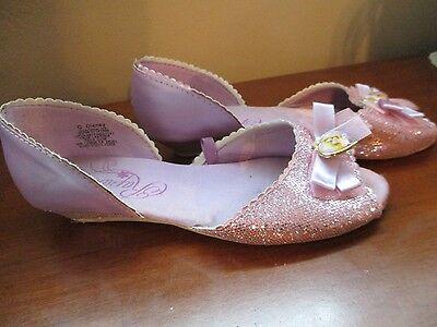 Disney Store Rapunzel Tangled Girls Costume Shoes 2/3 (Girls Costume Shoes)