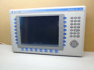 2711p-rdb10c B Allen Bradley Panelview Plus Display 2711prdb10c  W8