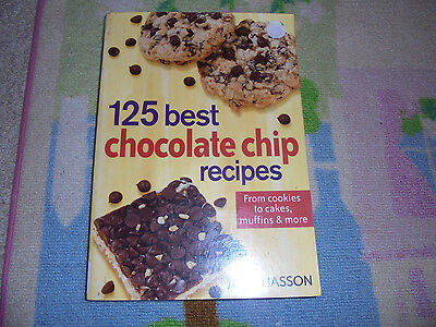 PB 125 Best Chocolate Chip recipes cookbook cooking from cookies to cakes
