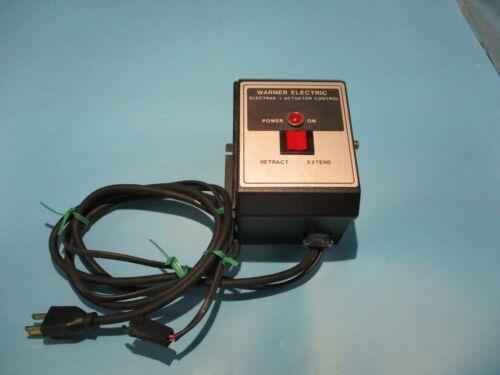 NEW WARNER ELECTRIC MCS-2005 ELECTRAK 1 ACTUATOR CONTROL 120V INPUT 24V OUTPUT