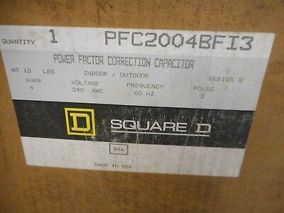 Square D Pfc2004bfi3 Power Factor Correction Capacitor 4 Kvar 240v 3 Pole