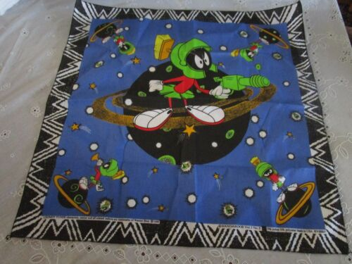 Vintage 1996 Marvin The Martian Looney Toons Bandanna New
