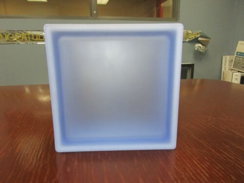 Blue Smooth Satin Pegasus Q19 Metric Glass Blocks (5 Pack)