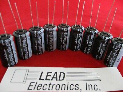 Qty12 Nichicon 4700uf 10-volt Radial Low Esr 105-degree Upw1a472mhd