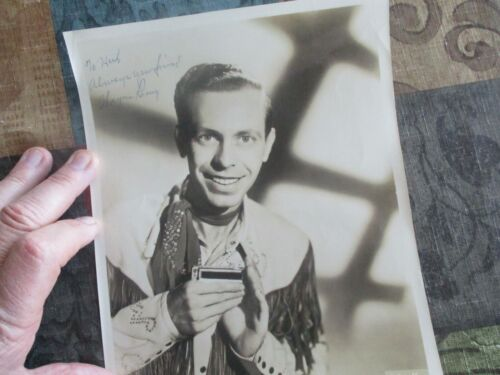 1952 Wayne Raney (Country Signer,Harmonica Player) Signed Hollywood Photograph!!