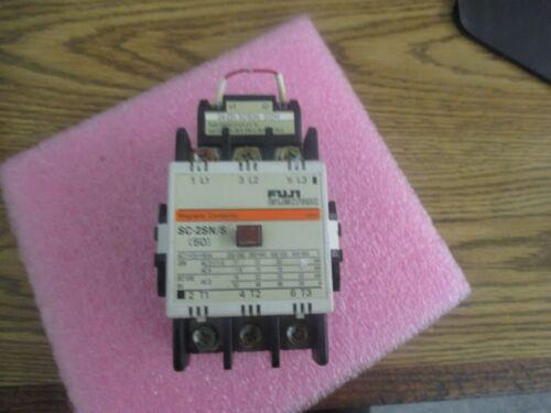 Fuji Electric Model: 50 Magnetic Contactor.  P/N: SC-2N/S with SC-1N/S, 2N/S, <