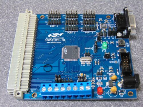 New Silicon C8051FX20-TB Prototyping Board    FREE S&H IN USA.   PRICE REDUCTION