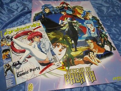 Animania  03 / 2003 , Manga Comics, Anime , Artbook , Popkultur , Games , Poster
