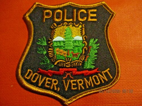 Collectible Vermont Police Patch,Dover,New