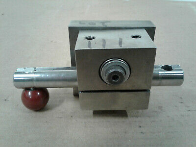 Machinist Lathe Milling Tool Post Holder 3 X 3 X 3 Inches With Allen Wrench Lock