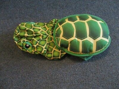 TOP PAW TURTLE PET COSTUME SIZE S/M-100% POLYESTER