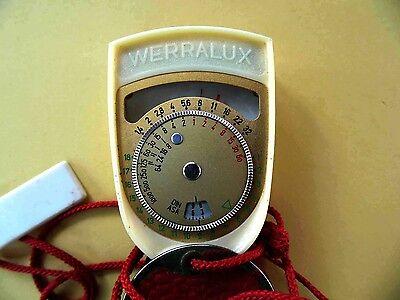 Измерители света Vintage WERRALUX Light Meter,