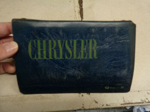 1965 Chrysler Dealer Color and Trim Book 65 New Yorker Newport 300 300L Wagon