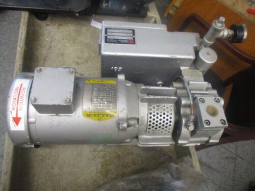 Travaini Pumps Model: PVLB 10 Rotary Vane Pump with Baldor MM.0.75-1750 <