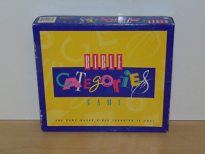 Bible Categories Trivia Game-Rainfall-Complete Excellent Condition