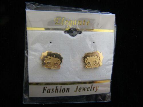 Betty Boop Clip  On Earrings NEW
