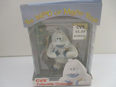 RUDOLPH THE RED NOSED REINDEER ENESCO CVS ABOMINABLE SNOWMAN ORNAMENT  MIB