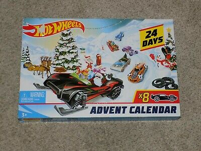 2019 Hot Wheels Advent Calendar 24 Days