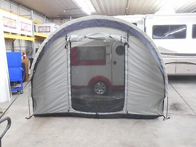 Trailer Side Tent by PahaQue Tab / Little guy black and gray for sale  Frederick