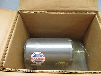 New In Box Baldor Rm3155 3 Phase Electric Motor 2 Hp 208-230460v 3450 Rpm