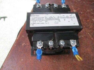 Square D Transformer 9070t75d2 0.0075kva Pri 240480v Sec 24v 5060hz Used