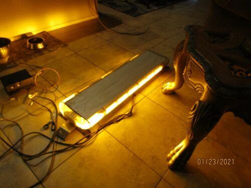 WHELEN  ALL AMBER LIBERTY LIGHT BAR , HAS ARROW STIK AND COMPLETE CONTROLLER