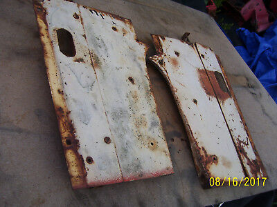 Vintage Ji Case 830 Row Crop Tractor -side Panels - 1958