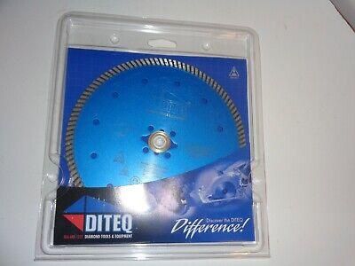 7 Diamond Saw Blade 58 Arbor Concrete Brick Block Diteq Turbo Rim