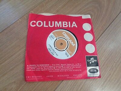 "Used, PROCOL HARUM- A WHITER SHADE OF PALE VINYL 7"" 45RPM Columbia - USED for sale  London"