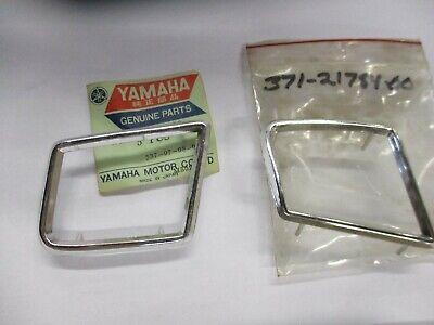 Yanaha TX500 XS500 nos side cover moulding set 1973-1975