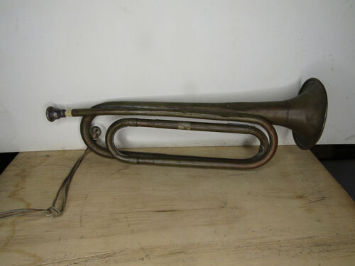 ORIGINAL EARLY BOY SCOUTS OF AMERICAN BUGLE REXCRAFT