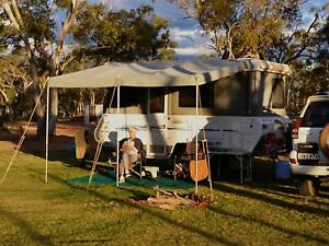 Awning for Caravan or Camper Trailer 3.9m x 2.5m with rafters Killcare Gosford Area Preview