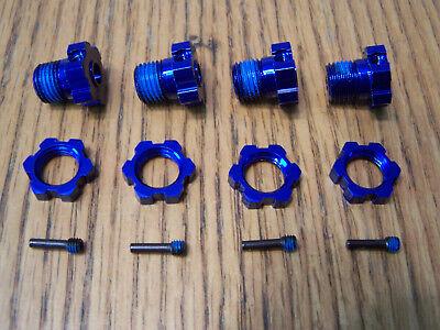 Traxxas 1/10 Summit 17mm Splined Wheel Hexes Hex Nut / Brushless E-revo & E-maxx for sale  Hudson