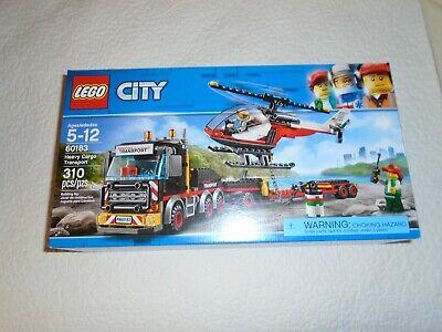 LEGO City Heavy Cargo Transport (60183)-NISB