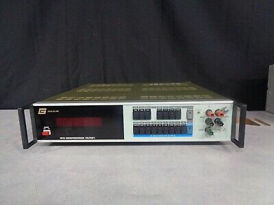 Guildline 9576 Microprocessor Voltmeter