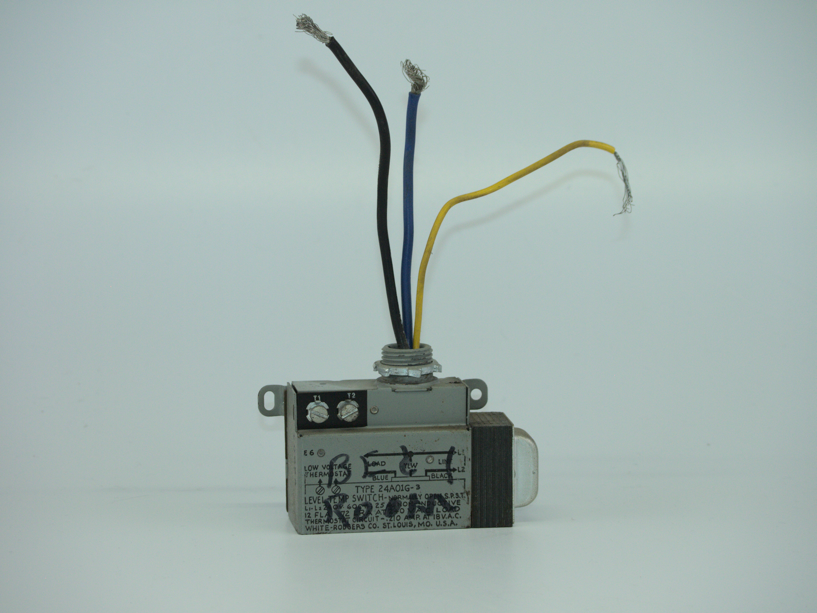 White-Rodgers Co. - 24A01G-3 Electric Heat Relay (240VAC) - Thermostat Circuit