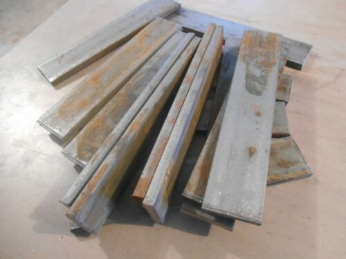 "Lot of 15 Steel Flat Bars 5/16 x 1-1/2 x 7-1/2"" High Carbon 1080 Forging Knife"
