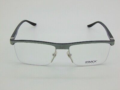 New Alain Mikli Starck Eyes SH 2014Y 0005 Carbon Fiber Grey 55mm (2014 Eyeglasses)