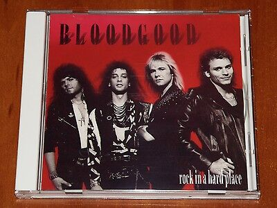Bloodgood Rock In A Hard Place Cd  Rare  Frontline Records 1988 Repress New
